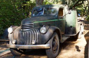 Sean Thackrey's truck