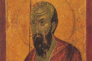 Apostle Paul, Deësis Tier Icon. Image via Wikimedia Commons
