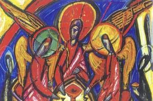 """Trinity in Dark Tones"" by Alek Rapoport. Image via Wikimedia Commons."