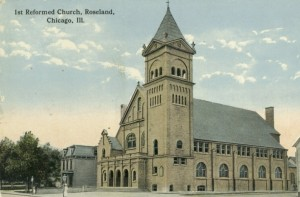 First Reformed Church, Rosalind, IL. Image via Wikimedia Commons.