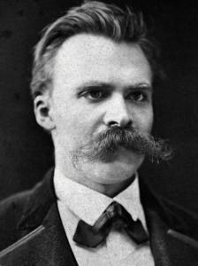 Friedrich Nietzsche (circa 1875) via Wikimedia Commons